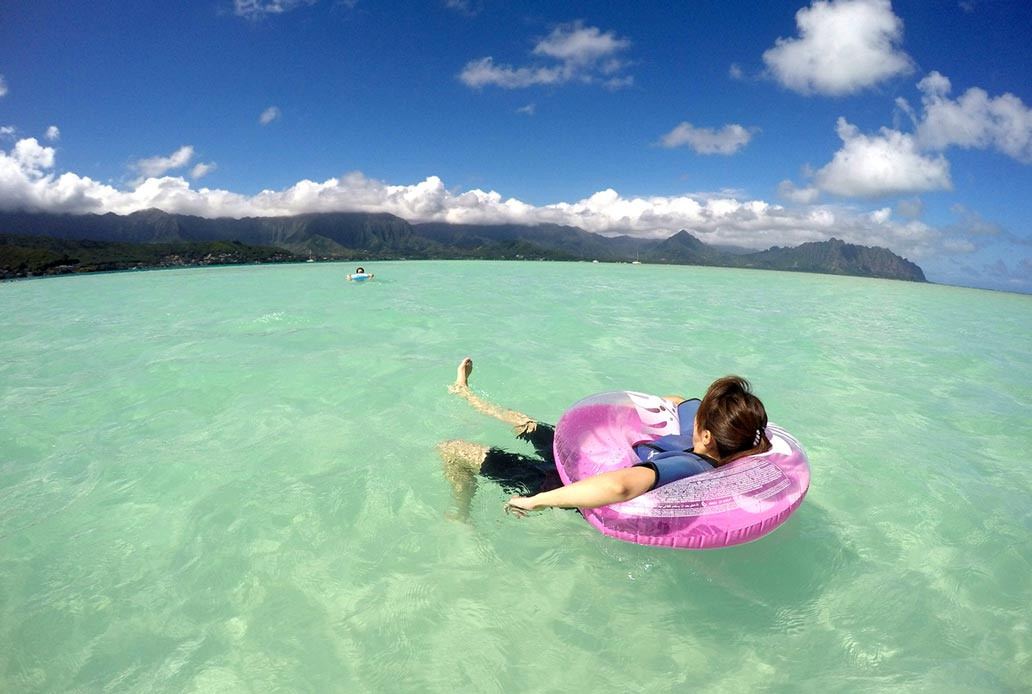 Private Yacht Charter Sandbar Oahu