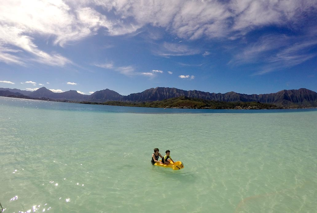 Private Boat Tour Sandbar Oahu