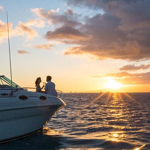 Sunset Private Boat Charter