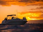 013 Pearl boat charter sunset