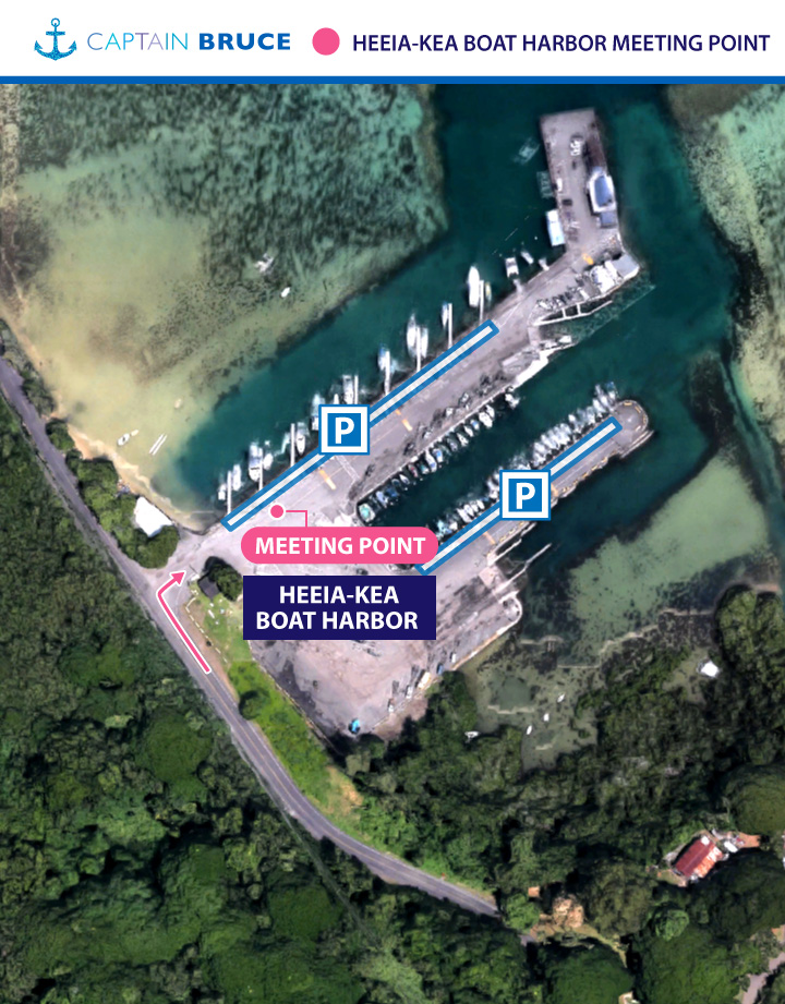 MAP: Heeia Kea Boat Harbor
