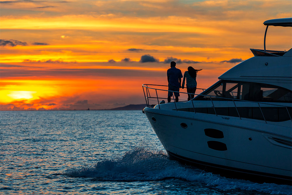 Hawaii Private sunset cruise